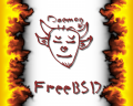 InnxFreeBSD Daemon by GNUlancer